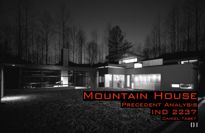 1). Cover Mountain House